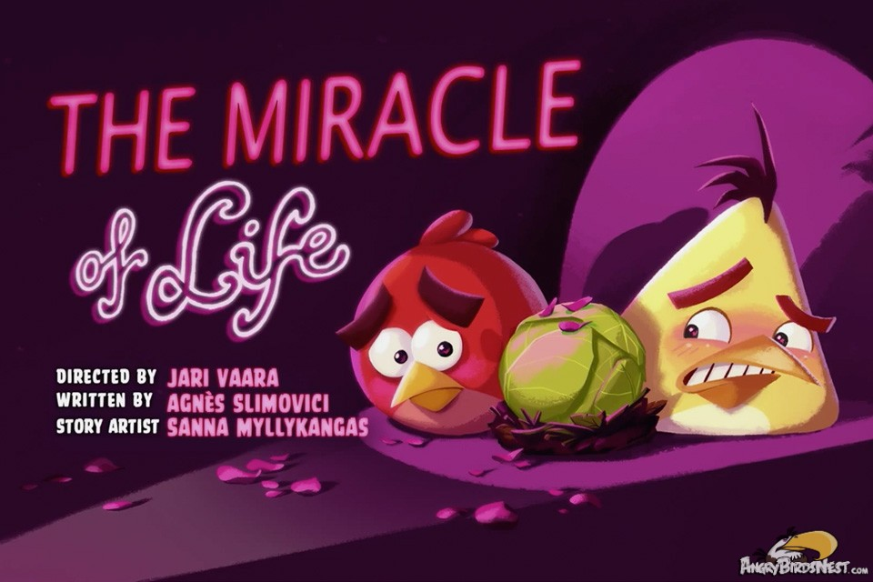 "Angry Birds Toons – Season 2 Episode 8 ""The Miracle of Life"" Sneak"