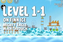 Mighty Eagle Walkthrough On Finn Ice Level 1-1