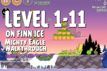 Mighty Eagle Walkthrough On Finn Ice Level 1-11