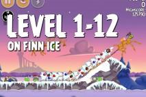 Angry Birds Seasons On Finn Ice Level 1-12 Walkthrough