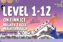 Mighty Eagle Walkthrough On Finn Ice Level 1-12