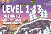Mighty Eagle Walkthrough On Finn Ice Level 1-13