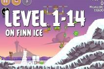 Angry Birds Seasons On Finn Ice Level 1-14 Walkthrough