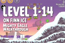 Mighty Eagle Walkthrough On Finn Ice Level 1-14