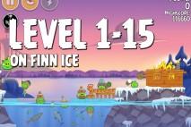 Angry Birds Seasons On Finn Ice Level 1-15 Walkthrough