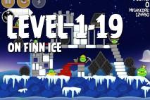 Angry Birds Seasons On Finn Ice Level 1-19 Walkthrough