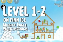 Mighty Eagle Walkthrough On Finn Ice Level 1-2
