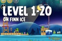 Angry Birds Seasons On Finn Ice Level 1-20 Walkthrough