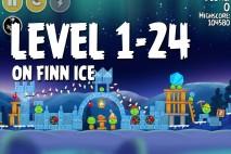 Angry Birds Seasons On Finn Ice Level 1-24 Walkthrough