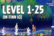 Angry Birds Seasons On Finn Ice Level 1-25 Walkthrough