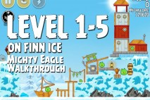 Mighty Eagle Walkthrough On Finn Ice Level 1-5