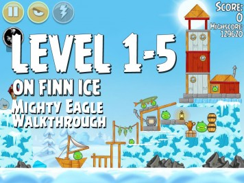 Angry Birds Seasons On Finn Ice 1-5 - Mighty Eagle
