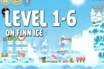 Angry Birds Seasons On Finn Ice Level 1-6 Walkthrough