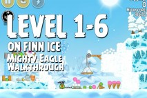 Mighty Eagle Walkthrough On Finn Ice Level 1-6