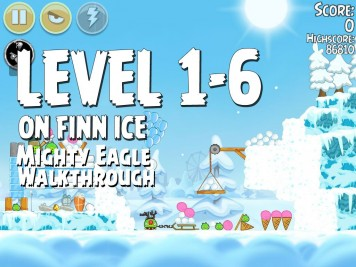 Angry Birds Seasons On Finn Ice 1-6 - Mighty Eagle