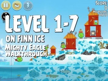Angry Birds Seasons On Finn Ice 1-7 - Mighty Eagle