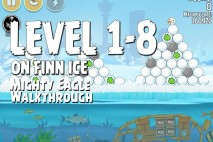 Mighty Eagle Walkthrough On Finn Ice Level 1-8