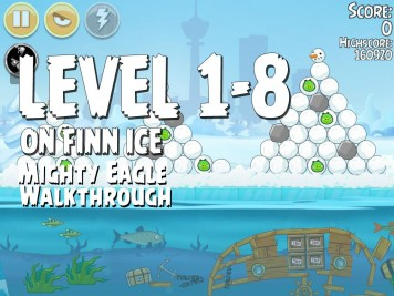 Angry Birds Seasons On Finn Ice 1-8 - Mighty Eagle