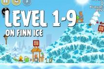 Angry Birds Seasons On Finn Ice Level 1-9 Walkthrough