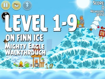 Angry Birds Seasons On Finn Ice 1-9 - Mighty Eagle