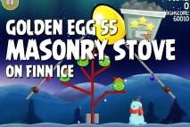 Angry Birds Seasons On Finn Ice Golden Egg #55 Walkthrough
