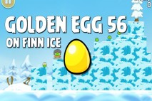 Angry Birds Seasons On Finn Ice Golden Egg #56 Walkthrough