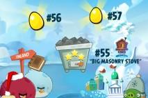 Angry Birds Seasons On Finn Ice Golden Eggs Walkthroughs