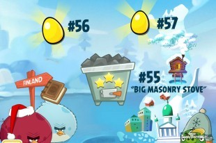 Angry Birds Seasons On Finn Ice Golden Eggs Walkthroughs