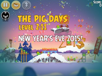 Angry Birds Seasons The Pig Days 2-11
