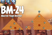 Angry Birds Star Wars 2 Master Your Destiny Level BM-24 Walkthrough