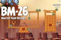 Angry Birds Star Wars 2 Master Your Destiny Level BM-26 Walkthrough