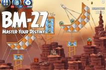 Angry Birds Star Wars 2 Master Your Destiny Level BM-27 Walkthrough