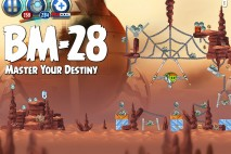 Angry Birds Star Wars 2 Master Your Destiny Level BM-28 Walkthrough