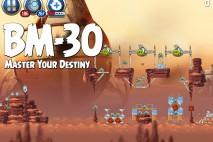Angry Birds Star Wars 2 Master Your Destiny Level BM-30 Walkthrough