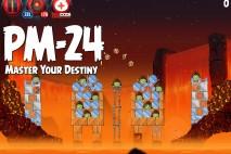 Angry Birds Star Wars 2 Master Your Destiny Level PM-24 Walkthrough