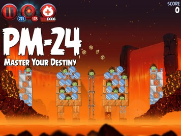 Angry Birds Star Wars 2 Master Your Destiny Level PM-24