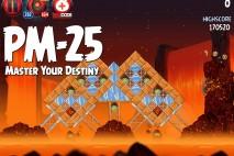 Angry Birds Star Wars 2 Master Your Destiny Level PM-25 Walkthrough