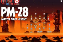 Angry Birds Star Wars 2 Master Your Destiny Level PM-28 Walkthrough