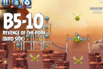 Angry Birds Star Wars 2 Revenge of the Pork Level B5-10 Walkthrough