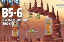 Angry Birds Star Wars 2 Revenge of the Pork Level B5-6 Walkthrough