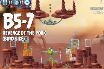 Angry Birds Star Wars 2 Revenge of the Pork Level B5-7 Walkthrough