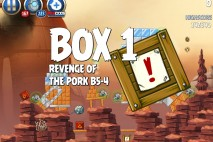 Angry Birds Star Wars 2 Revenge of the Pork B5-4 Bonus Box Walkthrough