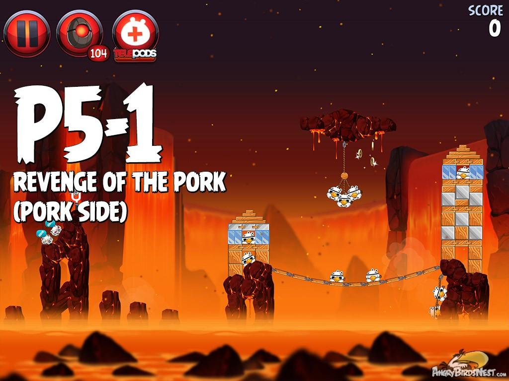 Angry Birds Star Wars 2 Revenge Of The Pork Level P5 1