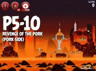 Angry Birds Star Wars 2 Revenge of the Pork Level P5-10 Walkthrough