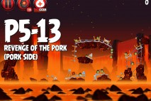 Angry Birds Star Wars 2 Revenge of the Pork Level P5-13 Walkthrough