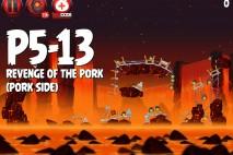 Angry Birds Star Wars 2 Revenge of the Pork Level P5-13 Walkthrough