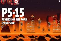 Angry Birds Star Wars 2 Revenge of the Pork Level P5-15 Walkthrough