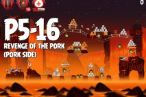 Angry Birds Star Wars 2 Revenge of the Pork Level P5-16 Walkthrough