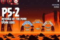 Angry Birds Star Wars 2 Revenge of the Pork Level P5-2 Walkthrough