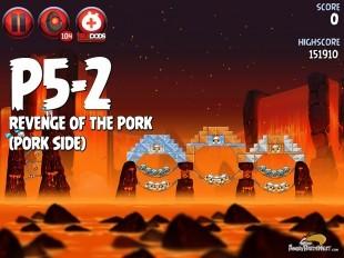Angry Birds Star Wars 2 Revenge of the Pork Level P5-2 Walkthrough